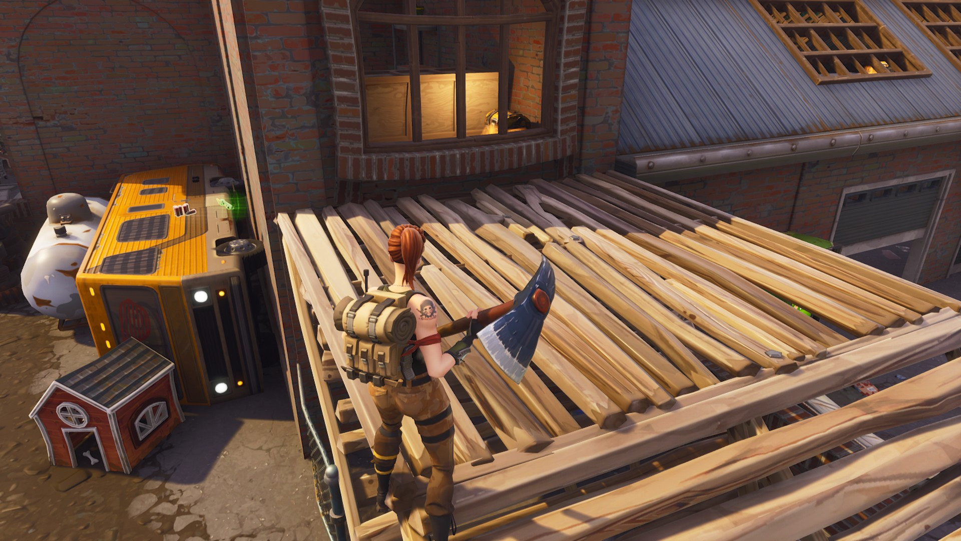 Fourth Chest location in Junky Junction | Fortnite - zilliongamer your game guide