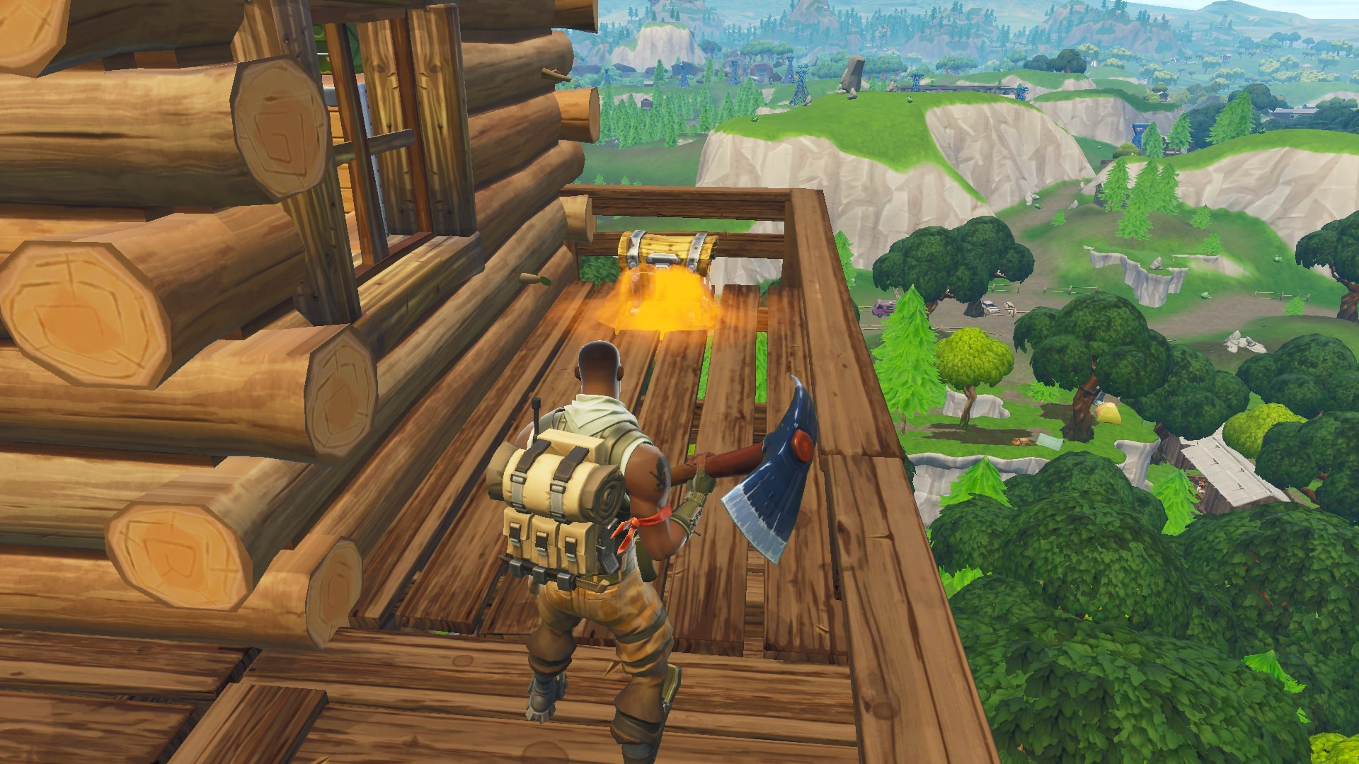 Chest Location 1 in Lonely Lodge | Fortnite - zilliongamer your game guide