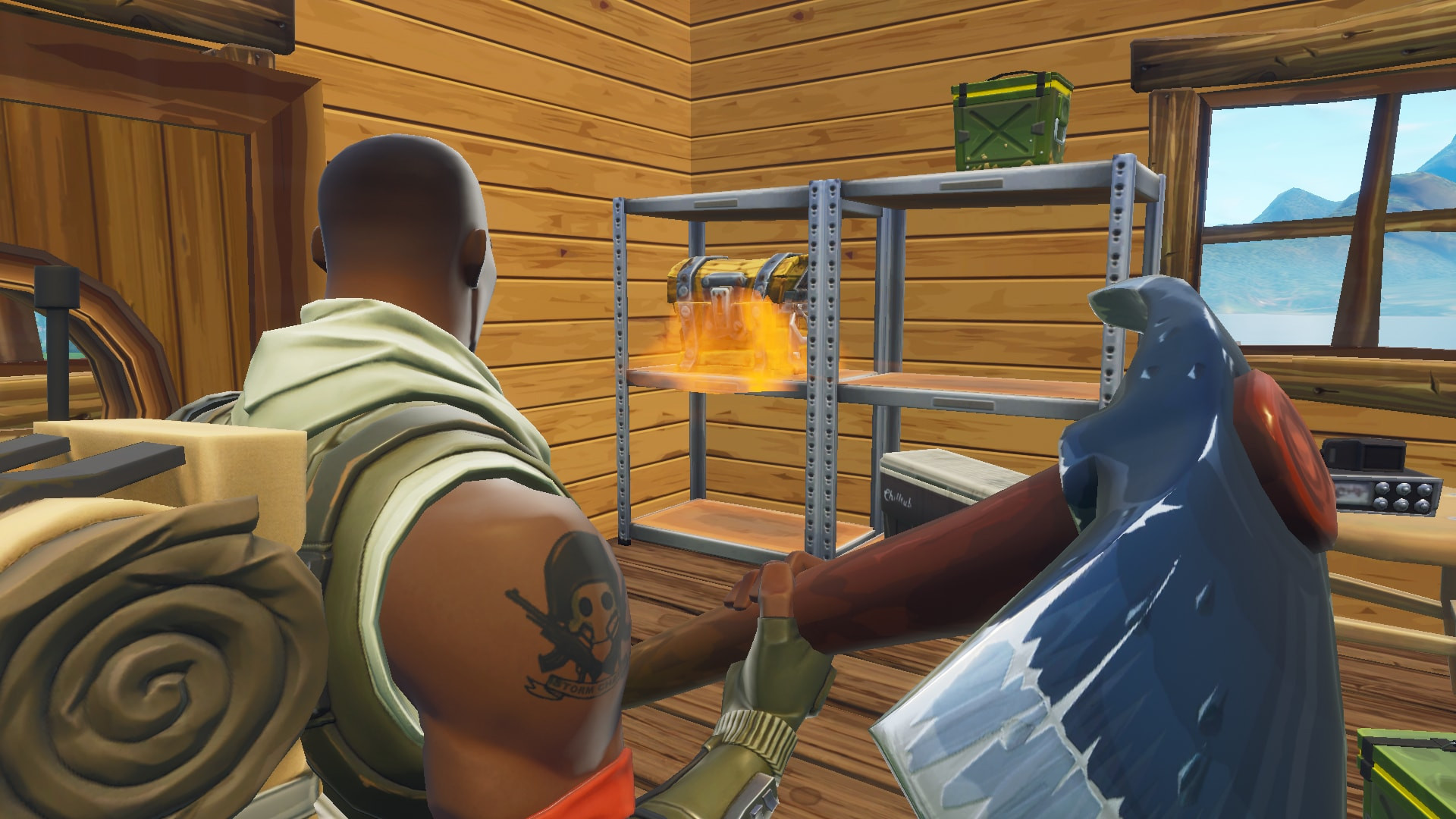 Chest Location 2 in Lonely Lodge | Fortnite - zilliongamer your game guide