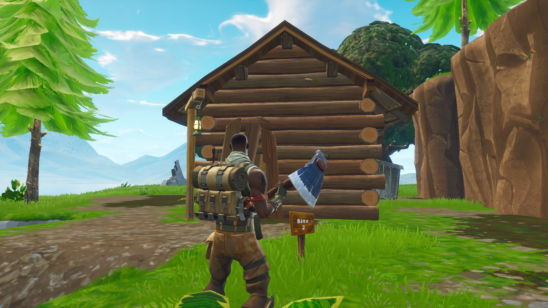 Chest Location 3 in Lonely Lodge | Fortnite - zilliongamer your game guide