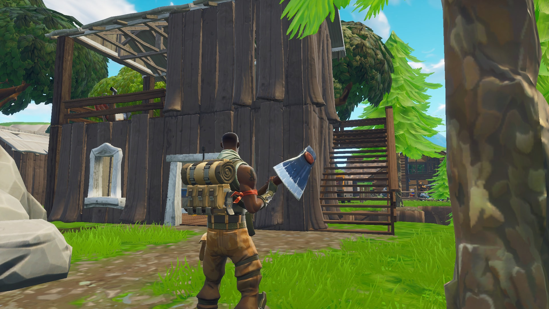 Chest Location 4 in Lonely Lodge | Fortnite -zilliongamer your game guide