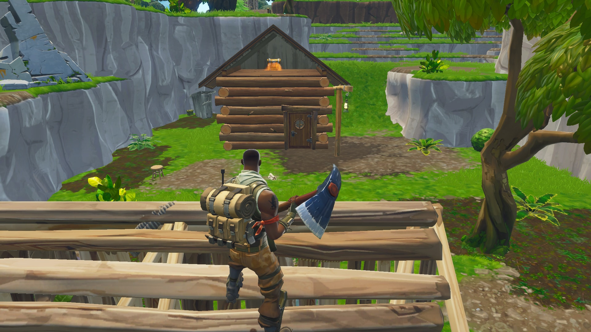 Chest Location 5 in Lonely Lodge | Fortnite - zilliongamer your game guide
