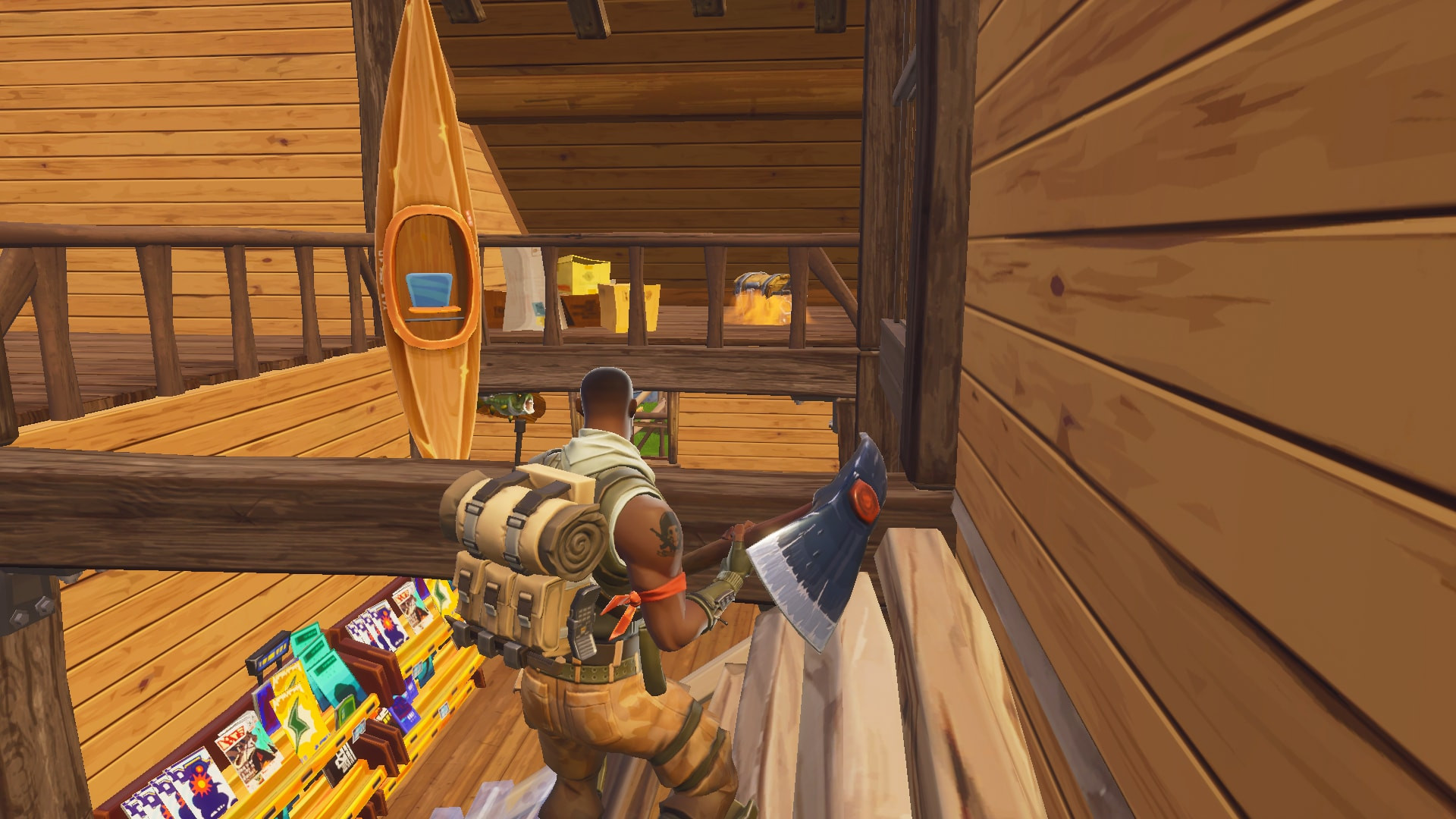 Chest Location 6 in Lonely Lodge | Fortnite - zilliongamer your game gide