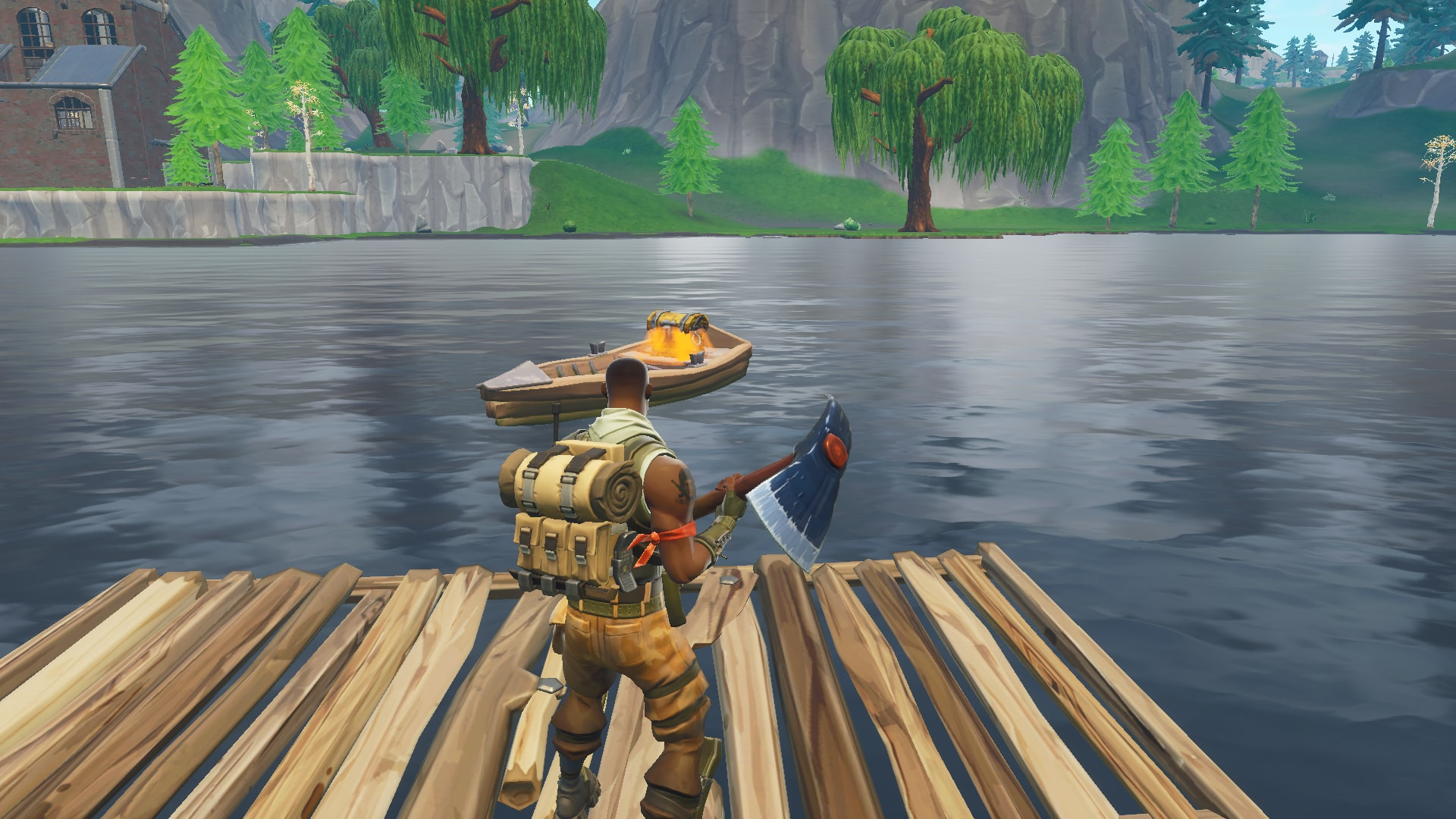 Chest Spots 4 in Loot Lake | Fortnite - zilliongamer your game guide