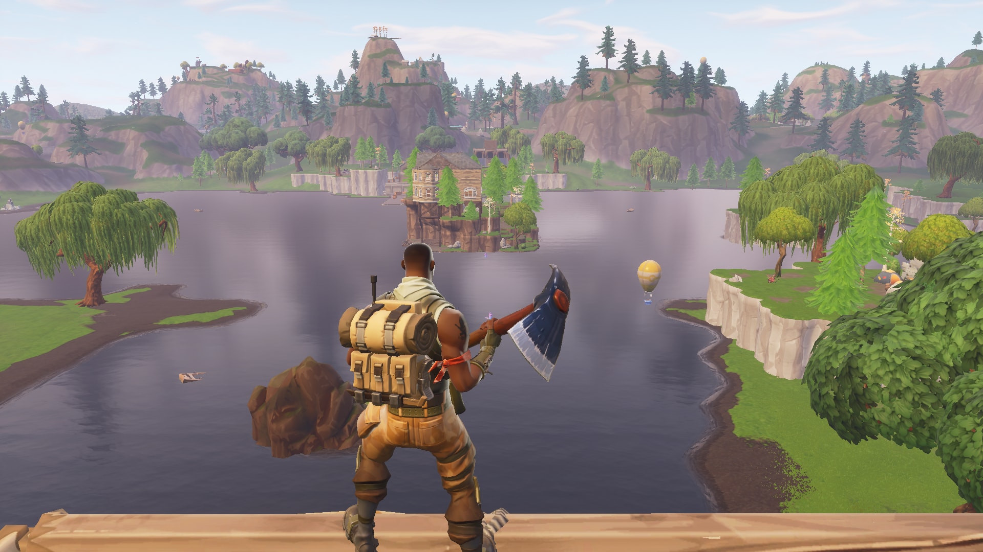 Loot lake top view in fortnite - zilliongamer your game guide
