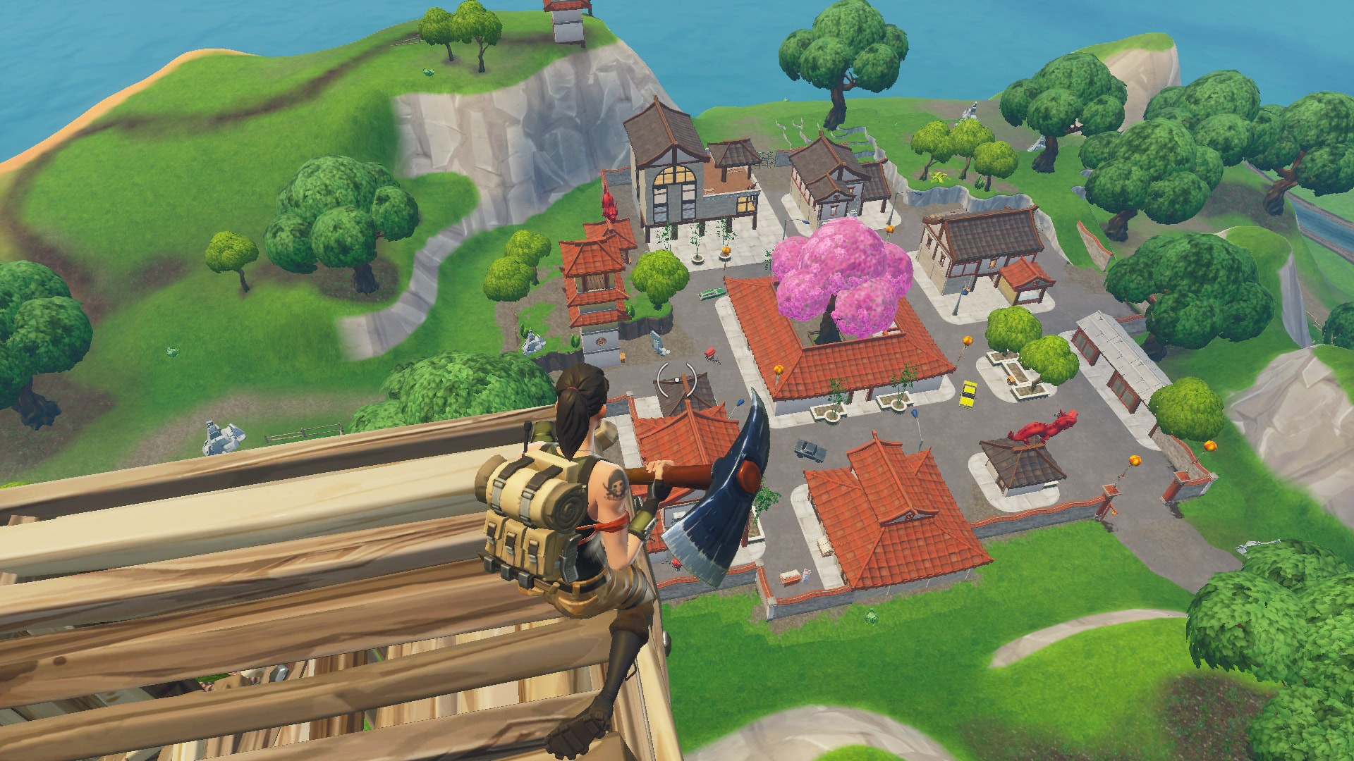 Lucky Landing top view | Fortnite - zilliongamer your game guide