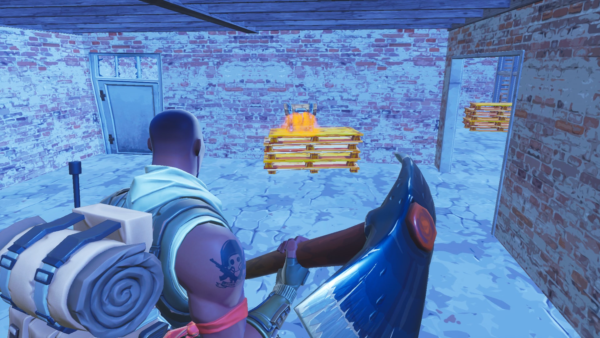 Spot Chests Location 21 in Tilted Tower | Fortnite - zilliongamer