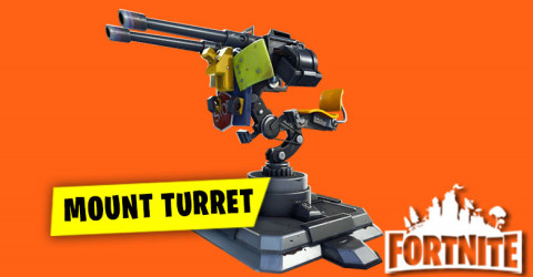 New Mounted Turret Coming into Fortnite