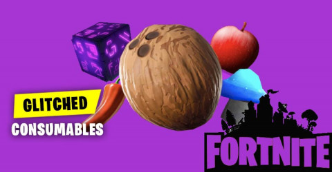 Glitched Consumables Fortnite