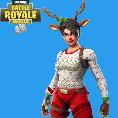 Red Nose Raider Skin | Fortnite - zilliongamer