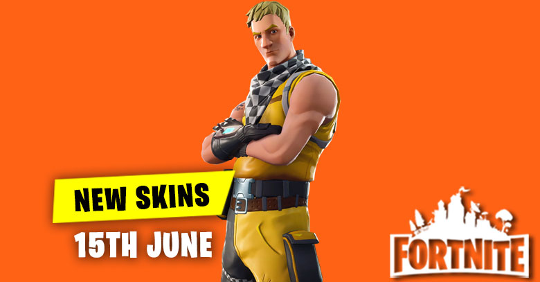 New Skins in Item Shop 15th June