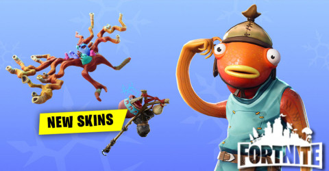 New Skins Release in Fortnite Shop