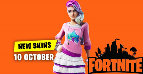 Fortnite Skins Today's Item Shop 10 October 2019