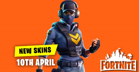 New Skins in Item Shop 10th April