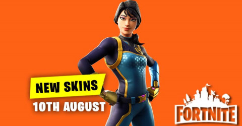 New Skins in Item Shop 10th August