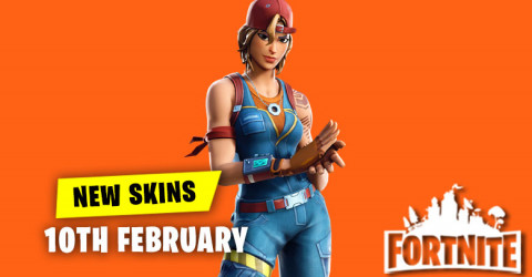 New Skins in Item Shop 10th February