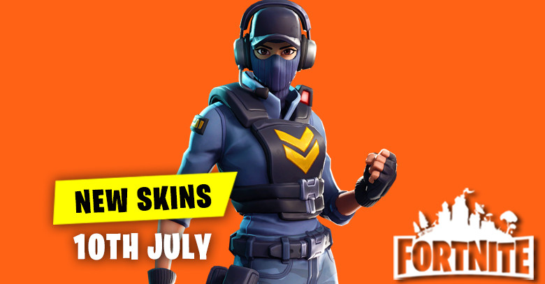New Skins in Item Shop 10th July