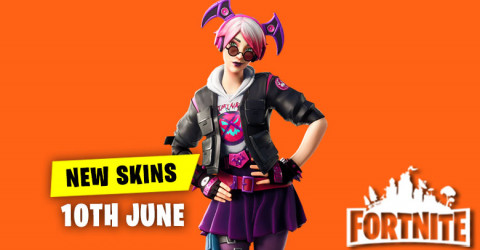 New Skins in Item Shop 10th June