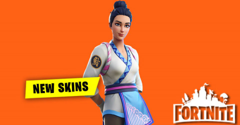 New Skins in Item Shop 10th