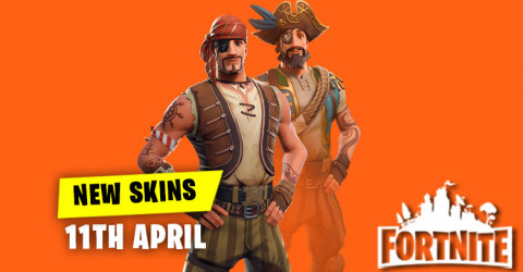 New Skins in Item Shop 11th April