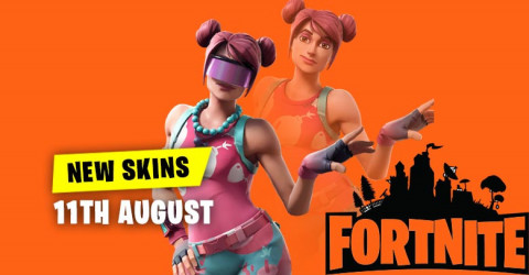 New Skins in Item Shop 11th August