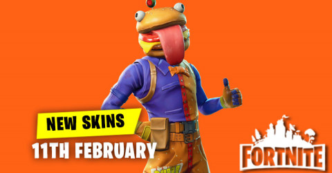 New Skins in Item Shop 11th February