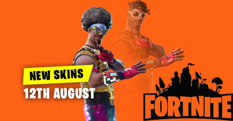 New Skins in Item Shop 12th August