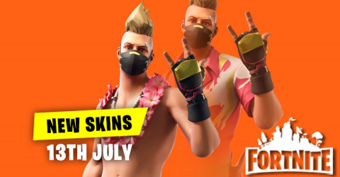 New Skins in Item Shop 13th July