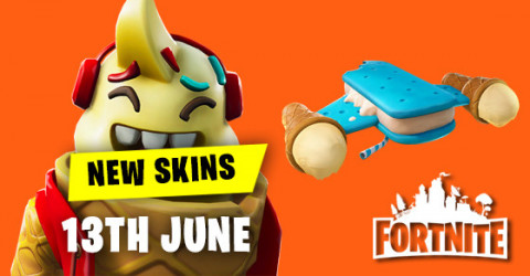 New Skins in Item Shop 13th June
