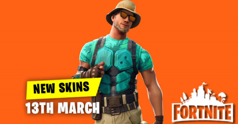 New Skins in Item Shop 13th March