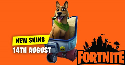New Skins in Item Shop 14th August