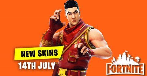 New Skins in Item Shop 14th July