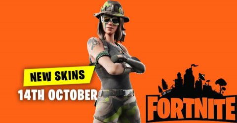 Fortnite Skins Today's Item Shop 14 October 2019