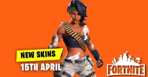 New Skins in Item Shop 15th April