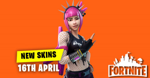 New Skins in Item Shop 16th April