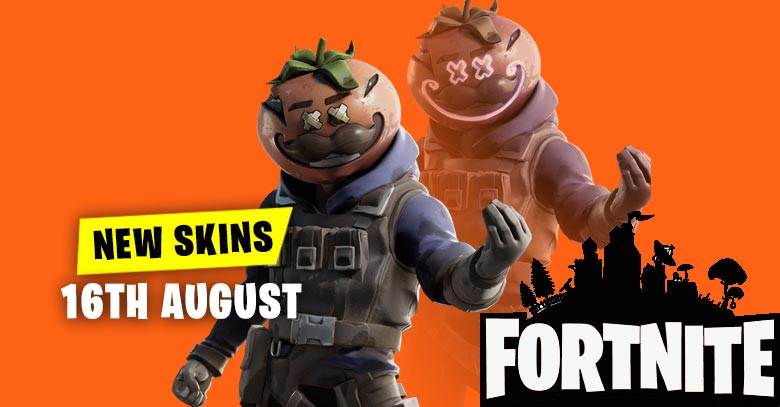 New Skins in Item Shop 16th August   Fortnite - zilliongamer