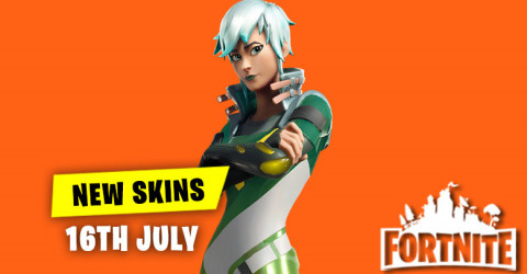 New Skins in Item Shop 16th July