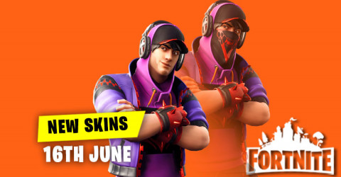 New Skins in Item Shop 16th June