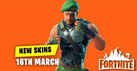 New Skins in Item Shop 16th March