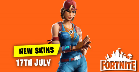 New Skins in Item Shop 17th July