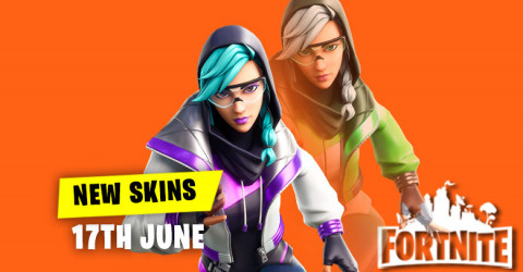 New Skins in Item Shop 17th June