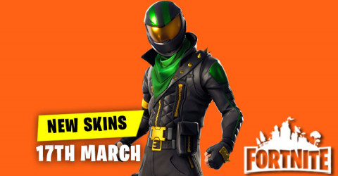 New Skins in Item Shop 17th March