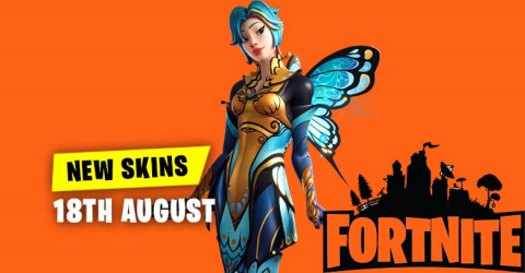 New Skins in Item Shop 18th August