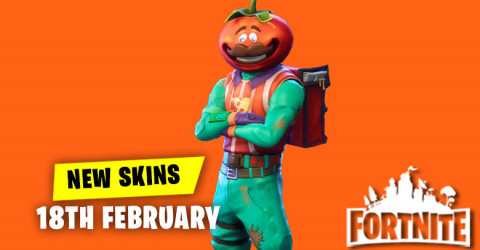 New Skins in Item Shop 18th February