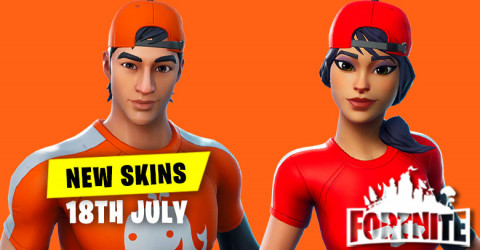 New Skins in Item Shop 18th July