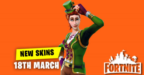 New Skins in Item Shop 18th March