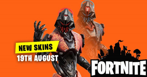 New Skins in Item Shop 19th August