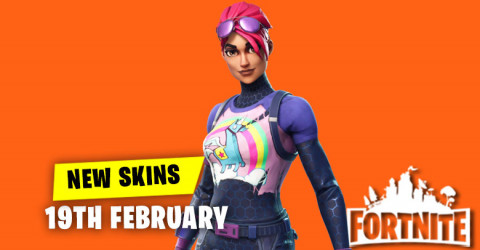 New Skins in Item Shop 19th February