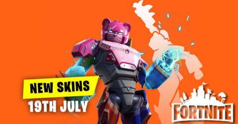 New Skins in Item Shop 19th July