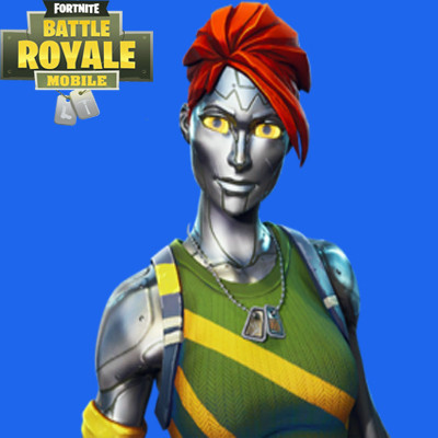 Chromium Skin | Fortnite - zilliongamer